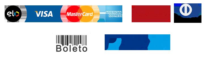 bandeiras – formas de pagamento